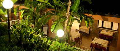 ristorante all'aperto marina di camerota