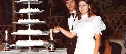 banchetto anni settanta
