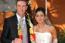 aperitivo sposo e sposa