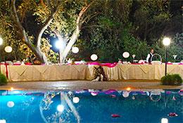accoglienza in piscina